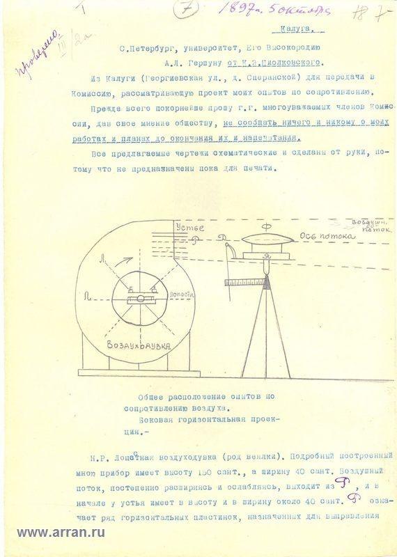Циолковский биография