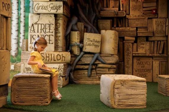 удивительные детские библиотеки